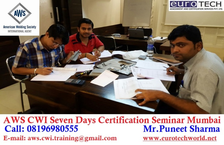 AWS CWI Seven Days Certification Seminar Mumbai