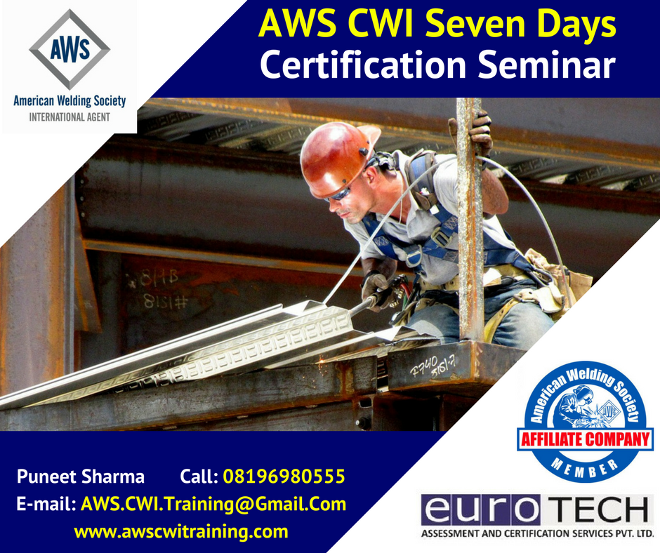AWS CWI 7 Days Seminar and exam in Ahmedabad
