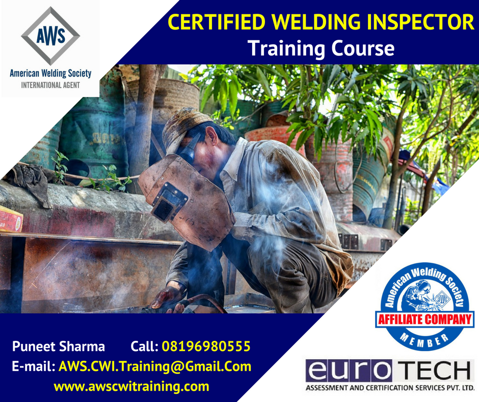 Aws Cwi Training Chennai Aws Cwi Certification Certified Welding