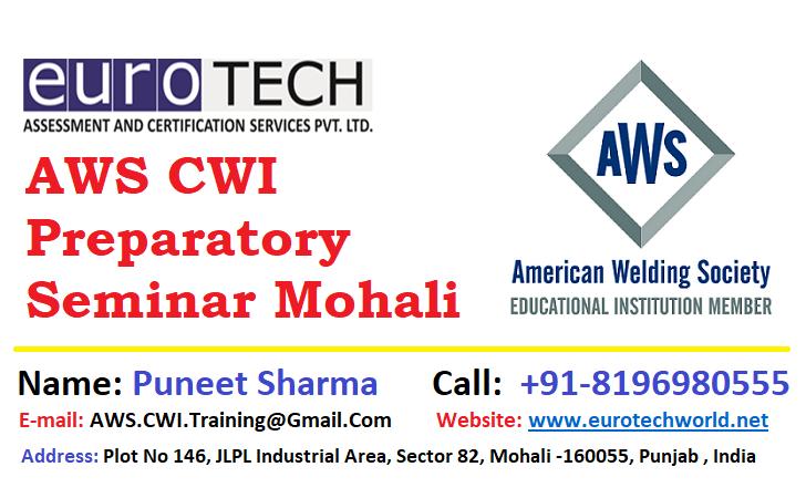 AWS CWI Preparatory Seminar Mohali